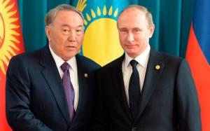 Ρωσία-Καζακστάν: Πούτιν και Ναζαρμπάγεφ συζήτησαν σχετικά με τη δημιουργία ενός διεθνούς συνασπισμού