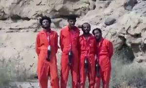Νέο αρρωστημένο βίντεο: Τζιχαντιστές «διαφημίζουν» διαφορετικές εκδοχές εκτέλεσης κρατουμένων