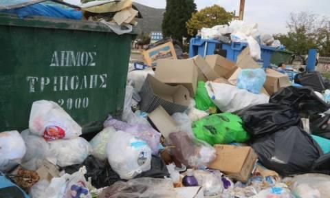 Τα σκουπίδα «πνίγουν» την Τρίπολη - Σε κατάσταση έκτακτης ανάγκης η πόλη