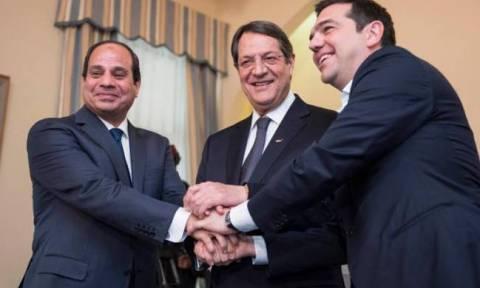 Τριμερής Συνάντηση Κορυφής μεταξύ Ελλάδας, Αιγύπτου και Κύπρου