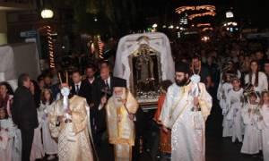 Λιτανεία της Αγίας Βαρβάρας στο Παλαιό Φάληρο