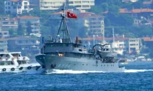 Οι Τούρκοι προκαλούν: Έβγαλαν το «Τσεσμέ» μεταξύ Λέσβου και Χίου!