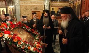 Στον Άγιο Νικόλαο Πευκακίων χοροστάτησε ο Αρχιεπίσκοπος Ιερώνυμος (pics)