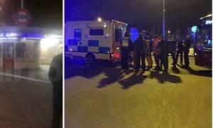 Σοκ: Άνδρας έκοψε το λαιμό περαστικού στο μετρό του Λονδίνου φωνάζοντας «για τη Συρία» (vid)