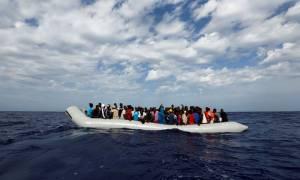 Διάσωση δεκάδων προσφύγων στη Μυτιλήνη