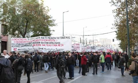 Δείτε Live την πορεία για τα επτά χρόνια από τη δολοφονία Γρηγορόπουλου