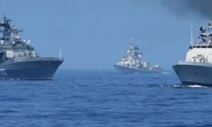 Ινδία: Στη ναυτική άσκηση «Indra» ρωσικά πολεμικά πλοία