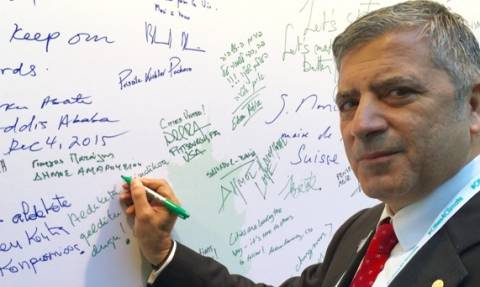 Η ΚΕΔΕ υπέγραψε στο Παρίσι τη Διακήρυξη των Πόλεων για το Κλίμα