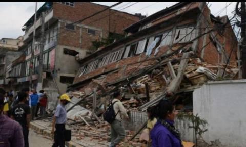 Η γη σείεται από ισχυρό σεισμό στο Τατζικιστάν!