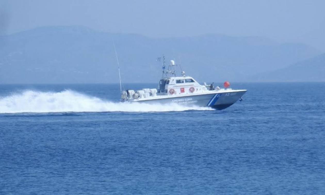 Κάλυμνος: Καταδίωξη διακινητών προσφύγων στη θάλασσα