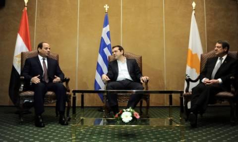 Αλ Σίσι: Η σημερινή Τριμερής συμβολίζει την ακλόνητης δέσμευσή μας για την κοινή συνεργασία