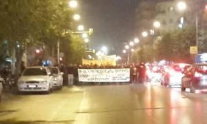 Θεσσαλονίκη: Πορεία αλληλεγγύης στους πρόσφυγες