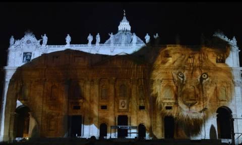 Βατικανό: Η άγρια ομορφιά του πλανήτη στην επιβλητική Βασιλική του Αγίου Πέτρου (pics+vid)