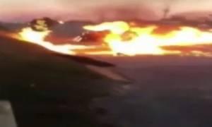 Φρικιαστικό: Τσακώθηκε με συναδέλφους του και τους έκαψε ζωντανούς! (video)