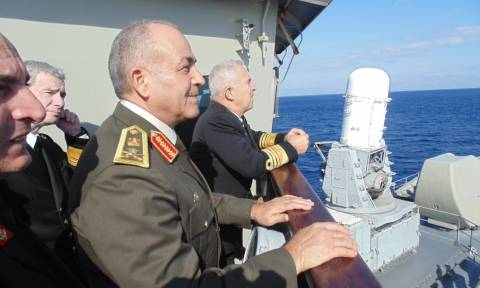 Στην 115ΠΜ ο Αρχηγός των Ε.Δ της Αιγύπτου (pics)