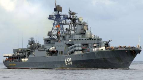 Πυρά ρωσικής φρεγάτας κατά τουρκικού πλοίου ανοιχτά της Λήμνου