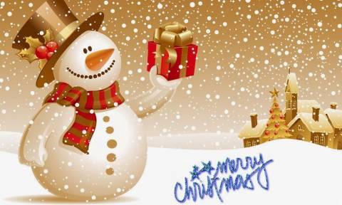 Οι καλύτερες Χριστουγεννιάτικες ευχές της διπλανής πόρτας!