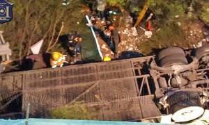Τραγικό δυστύχημα στην Αργεντινή: 42 αστυνομικοί νεκροί σε τροχαίο με λεωφορείο