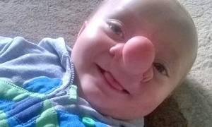 Αυτό το μωρό είναι ο αληθινός Πινόκιο! (photos)