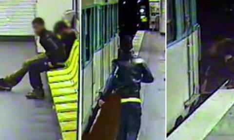 Απίστευτο βίντεο: Του έκλεψε το κινητό και μετά του έσωσε τη ζωή!