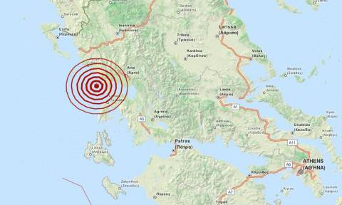 Σεισμός στην Πρέβεζα – 4,6 Ρίχτερ δίνουν οι Αμερικάνοι (pics)