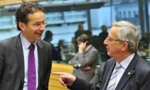Προειδοποίηση Γιούνκερ - Ντάισελμπλουμ να μην υπάρχει εφησυχασμός στην Ευρωζώνη
