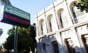 Σε συναγερμό το Λος Άντζελες: Κλειστά τα σχολεία λόγω απειλών για βόμβες (vid)