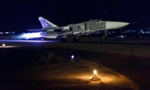 Καταγγελία ΜΚΟ για άμαχους νεκρούς από βομβαρδισμούς ρωσικών αεροσκαφών στη Συρία
