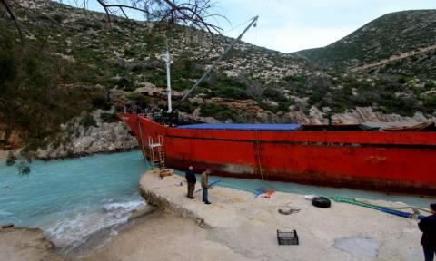 Προσάραξη φορτηγού πλοίου με εννέα άτομα πλήρωμα βορειοδυτικά της Αιδηψού