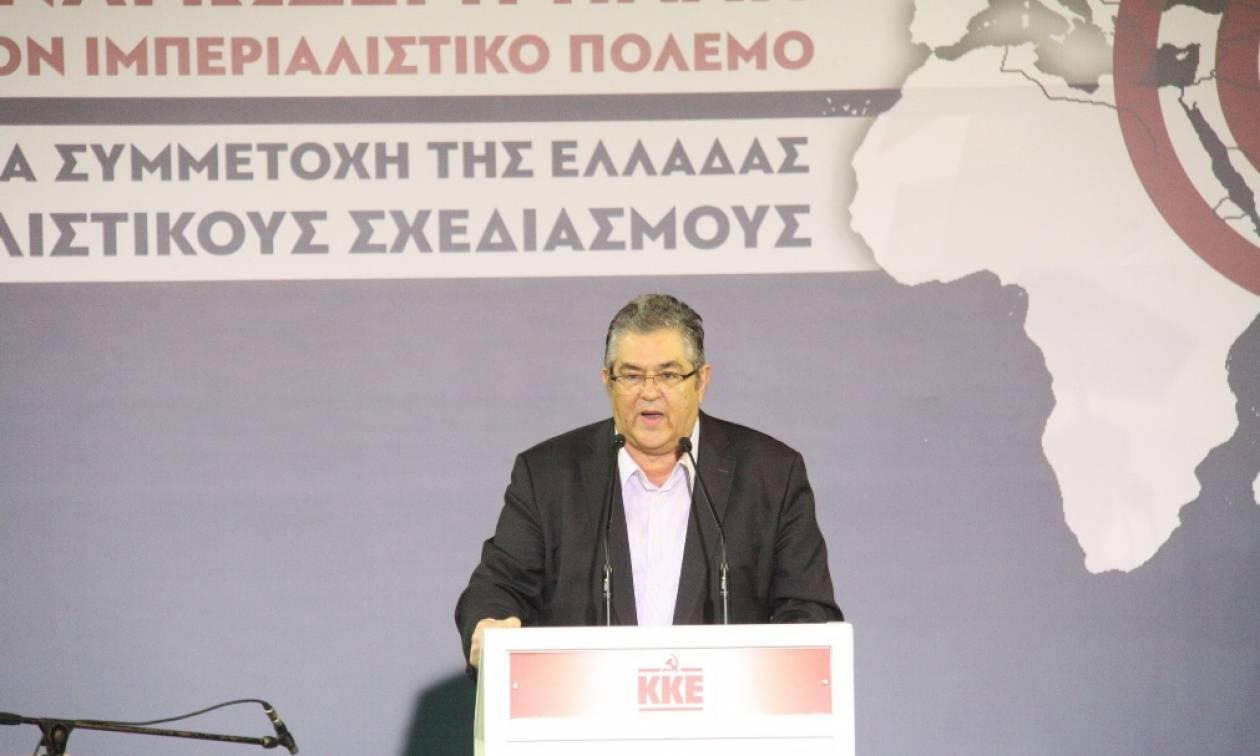ΚΚΕ: Αμφισβήτηση των κυριαρχικών δικαιωμάτων της χώρας με σφραγίδα ΕΕ - ΝΑΤΟ