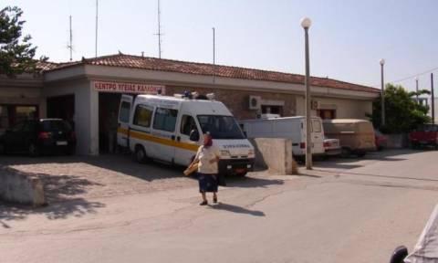 Λέσβος: Στο νοσοκομείο με το αγροτικό!