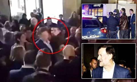 Ισπανία: Σε αναμορφωτήριο ο ανήλικος που χτύπησε στο πρόσωπο τον πρωθυπουργό Ραχόι (pic)