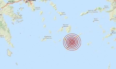 Σεισμός 3,4 Ρίχτερ βορειοανατολικά της Σαντορίνης (pics)