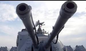Το CNN στο θρυλικό Μόσκβα του ρωσικού πολεμικού ναυτικού!
