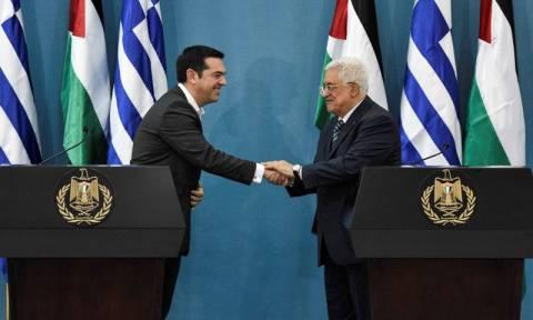 Επίσκεψη στην Αθήνα θα πραγματοπηοιήσει τη Δευτέρα ο Μαχμούντ Αμπάς