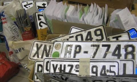 Επιστρέφονται από σήμερα πινακίδες και άδειες κυκλοφορίας