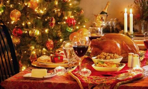 Προσοχή: Το χριστουγεννιάτικο τραπέζι κρύβει κινδύνους!