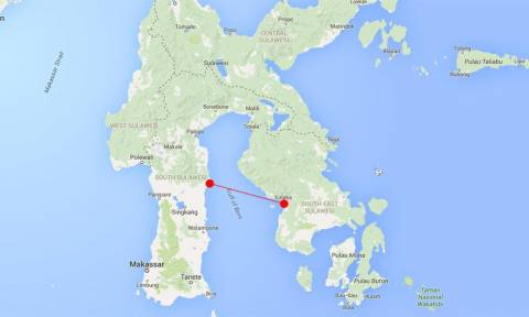 «Θρίλερ» με πλοίο στην Ινδονησία: Αναφορές ότι έχει βυθιστεί μαζί με 100 επιβάτες