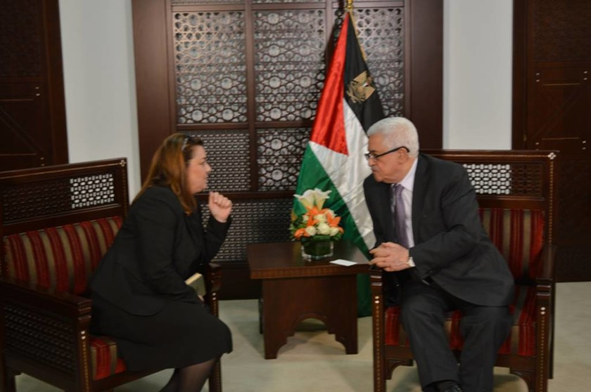 O Προέδρος της Παλαιστίνης Μαχμούτ Αμπάς αποκλειστικά στο newsbomb