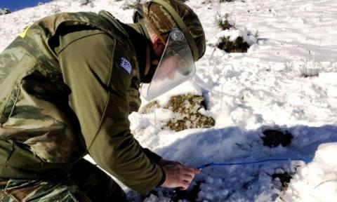 Απολογισμός εργασιών τάγματος εκκαθαρίσεως ναρκοπεδίων στρατού (pics)