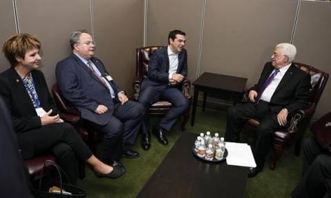 Στην Αθήνα ο Παλαιστίνιος Πρόεδρος Μαχμούντ Αμπάς