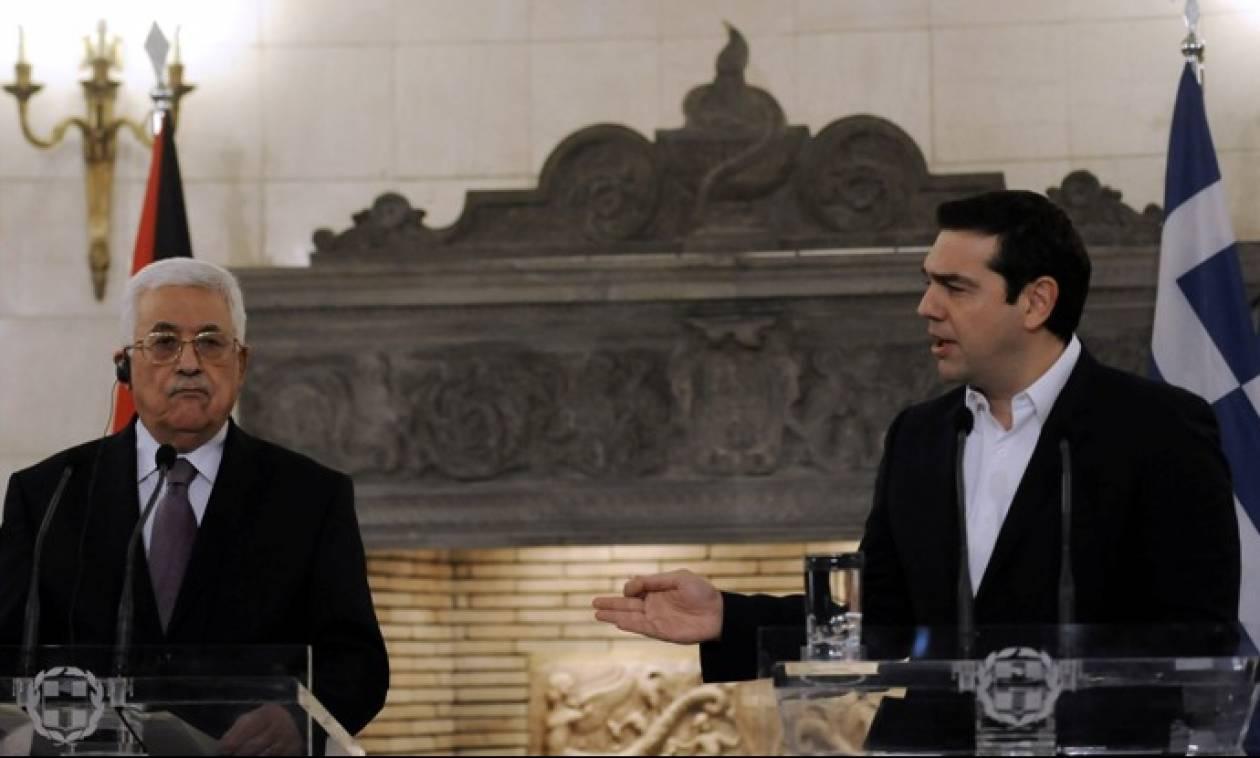 Τσίπρας: Γέφυρα λύσης στο Παλαιστινιακό η Ελλάδα