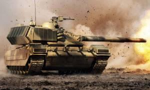 Τα ρωσικά Τ-90 σαρώνουν τους τζιχαντιστές (vid)