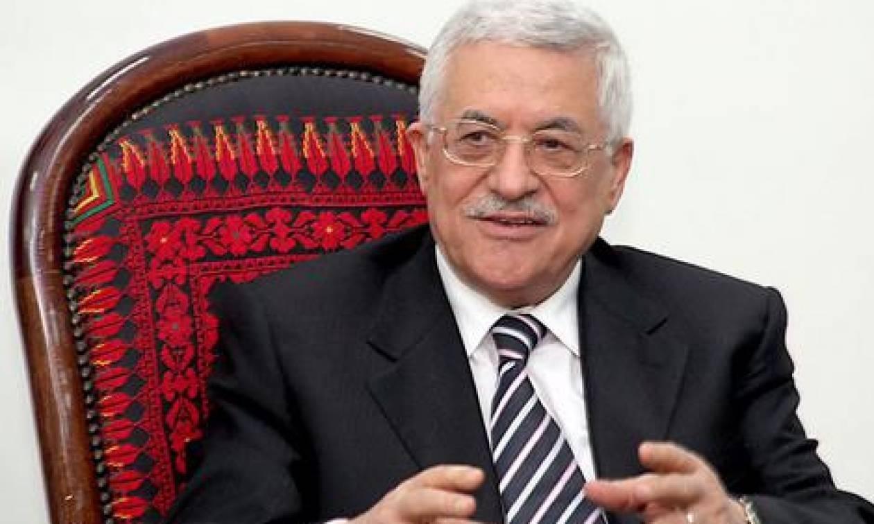Στη Βουλή των Ελλήνων ο Παλαιστίνιος Πρόεδρος, Μ. Αμπάς
