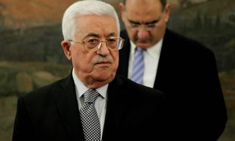 Live: Η ομιλία του Παλαιστίνιου πρόεδρου Μαχμούντ Αμπάς στη Γερουσία της Βουλής