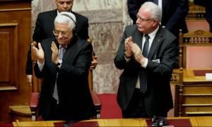 Αμπάς: Nα μην μετατραπεί η διένεξη για το Παλαιστινιακό από πολιτική σε θρησκευτική