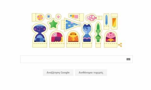 Καλές Γιορτές! Το νέο Doodle της Google