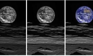 H νέα εκπληκτική φωτογραφία της Γης από τη Σελήνη (pic)