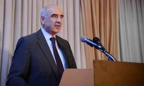 Εκλογές ΝΔ 2ος γύρος – Μεϊμαράκης: Θέλω μια ΝΔ στα πρότυπα του Κωνσταντίνου Καραμανλή