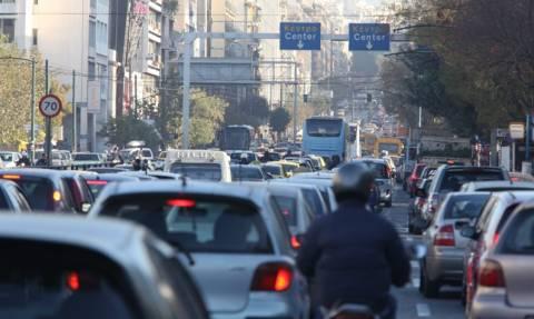 Χάος στους δρόμους της Αθήνας – Μποτιλιάρισμα χιλιομέτρων στον Κηφισό